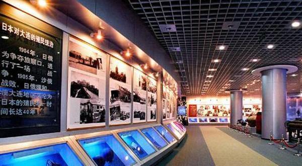 大连现代博物馆展示图