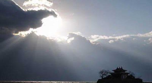 南诏风情岛美景图
