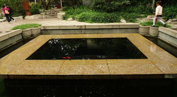 趵突泉之方形池