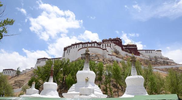 布达拉宫景观