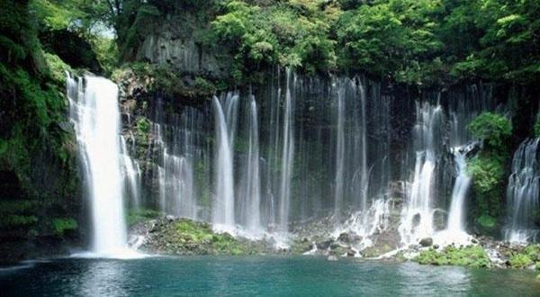 雅鲁藏布大峡谷瀑布