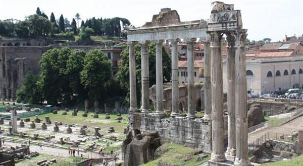 古罗马市集废墟和建筑