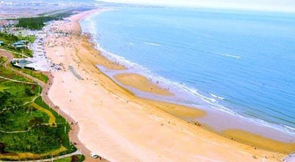 日照市万平口海滨度假区海滩