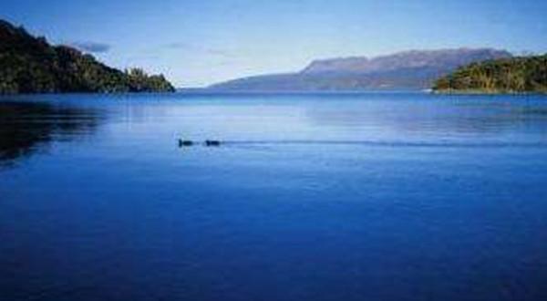 迷人罗托鲁阿湖