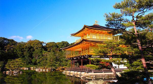 金阁寺风景图