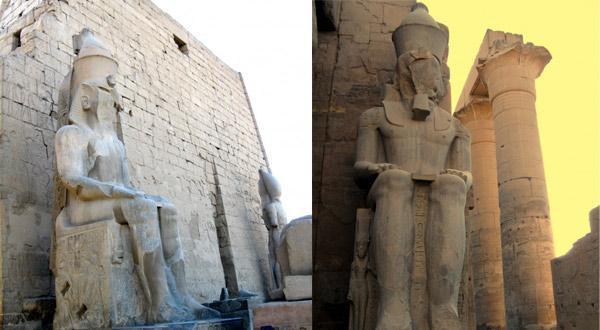 卢克索神庙佛像