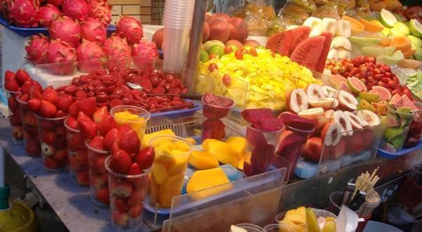 士林夜市水果