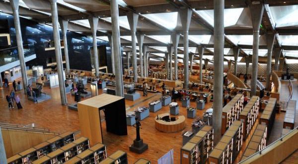 亚历山大图书馆内部