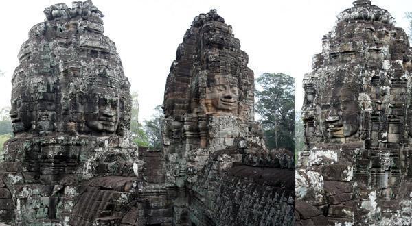 巴戎庙的看点之一各种佛陀像