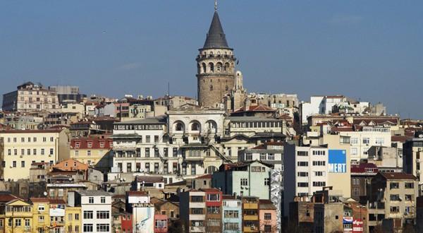 伊斯坦布尔城市风光