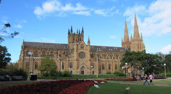 圣玛丽大教堂远观图