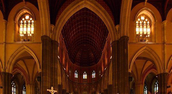 圣派翠克大教堂内景图