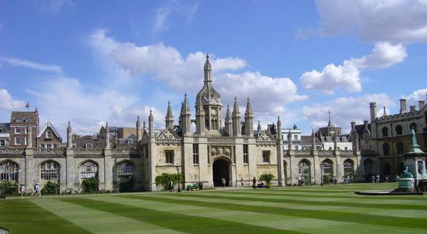 剑桥大学一角