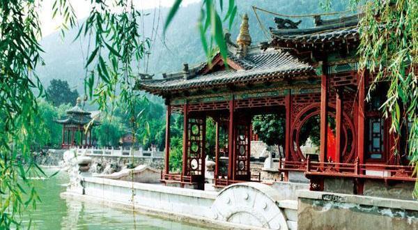 华清池景区风景