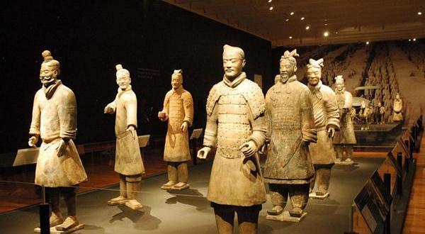秦始皇兵马俑博物馆-兵马俑