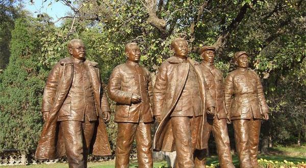 延安革命纪念馆雕像