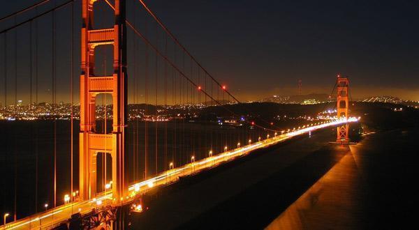 金门大桥夜景