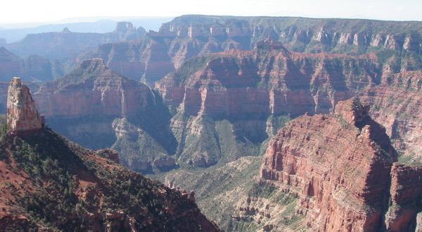 科罗拉多大峡谷景色