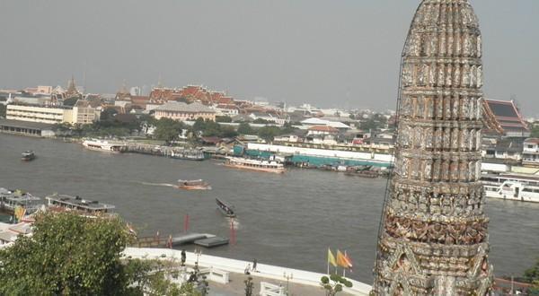 湄南河风光