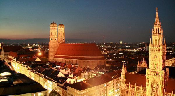 慕尼黑夜景