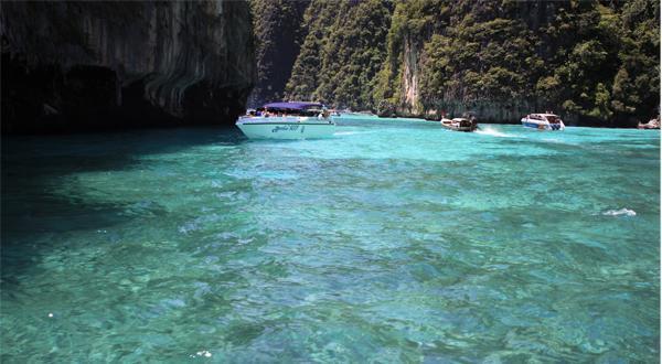 普吉岛的海水