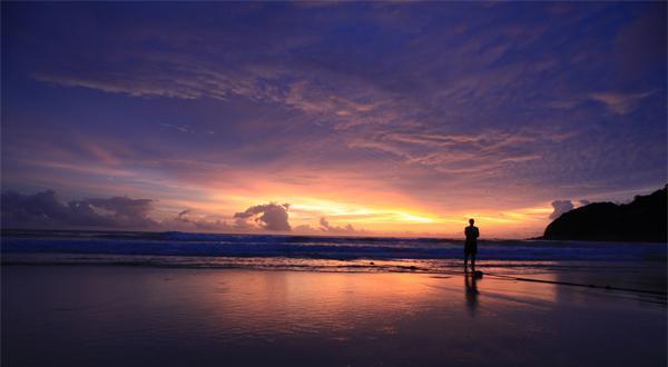 普吉岛日落