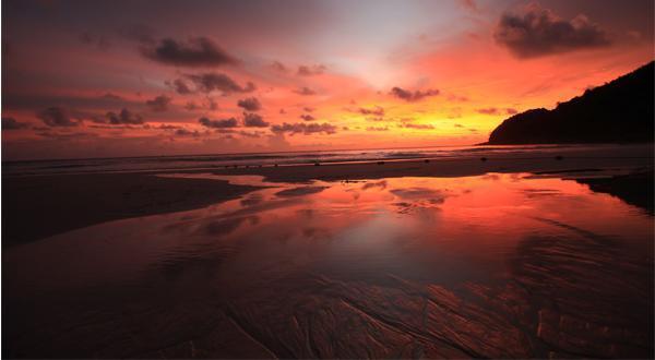 普吉岛夕阳