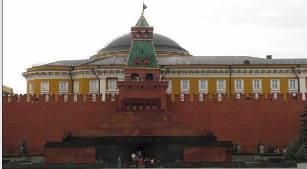 列宁墓全景