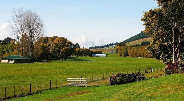 天堂农庄景色