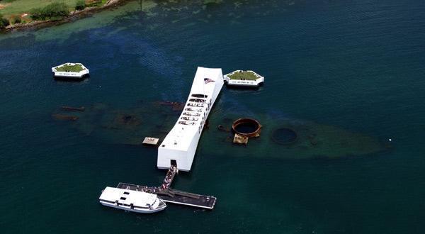 俯瞰珍珠港