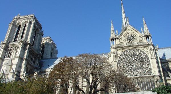 巴黎圣母院全景