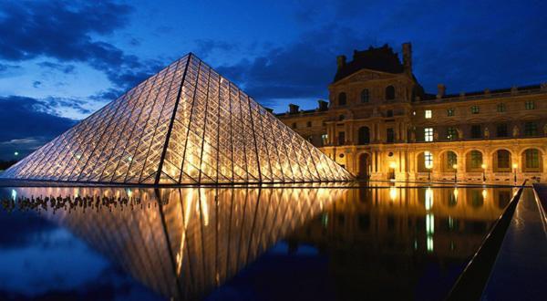 卢浮宫夜景
