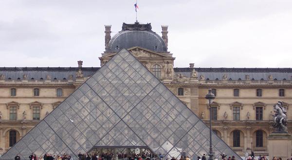 卢浮宫全景