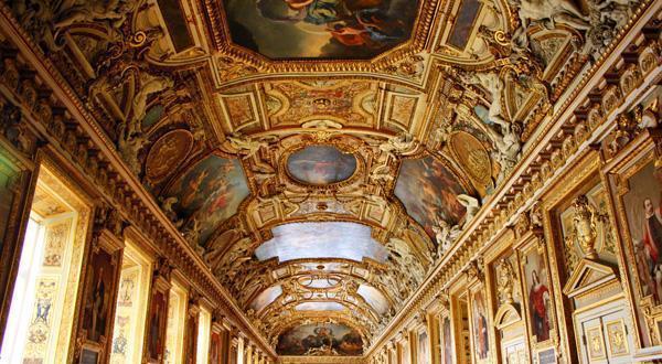 卢浮宫内景