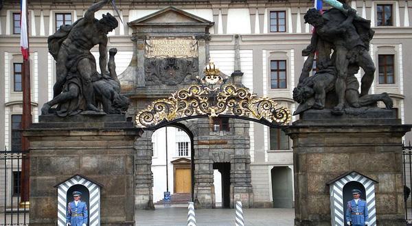 布拉格城堡大门