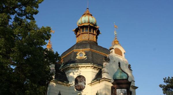 布拉格城堡细节图