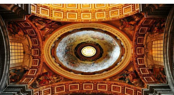 圣彼得大教堂内景