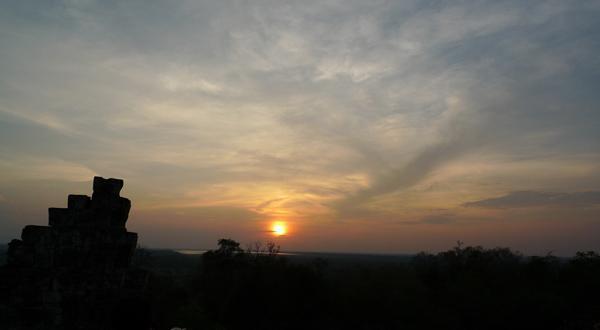 巴肯山日落