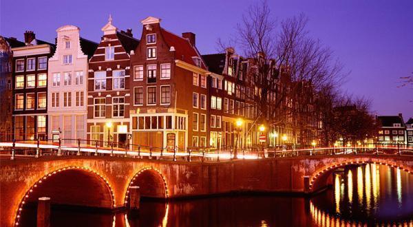 阿姆斯特丹夜景