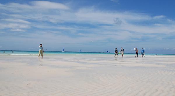 长滩岛海滩