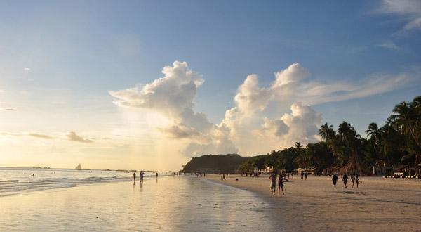 长滩岛海滩景观