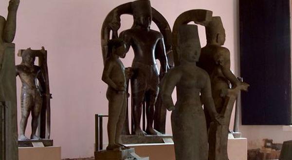 柬埔寨国家博物馆内景