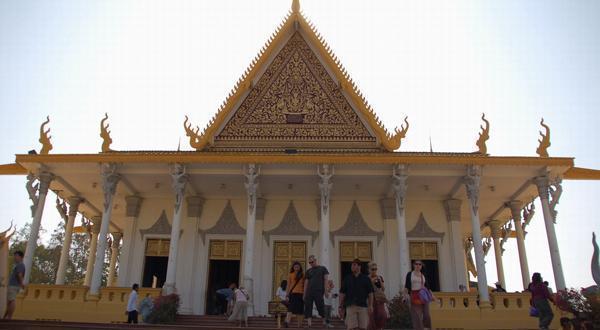 柬埔寨国家博物外观