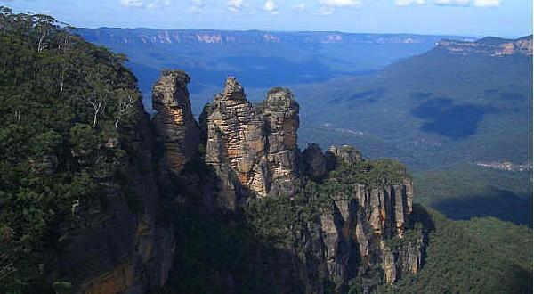 蓝山国家公园怪石