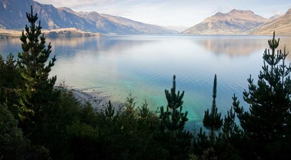 蓝山国家公园湖水