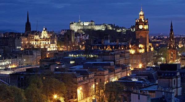 爱丁堡夜景