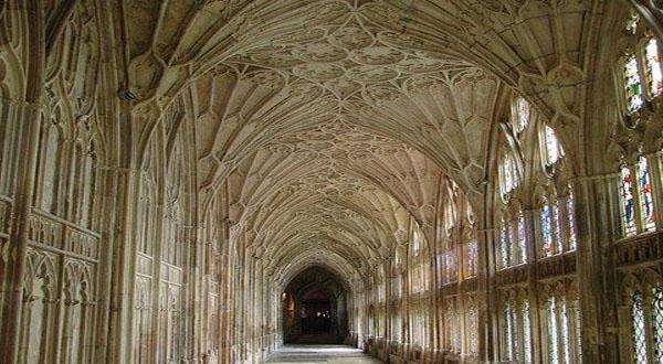 牛津大学基督教会学院建筑图