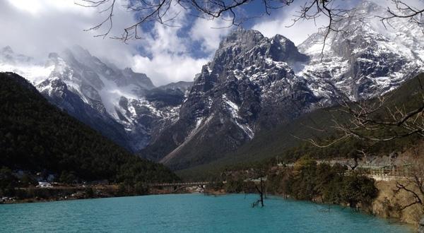 蓝月谷景观