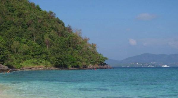 珊瑚岛风景
