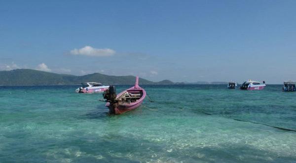 珊瑚岛一角